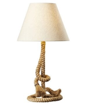 12-breakwater-bay-wheelock-rope-lamp-300x360 200+ Coastal Themed Lamps