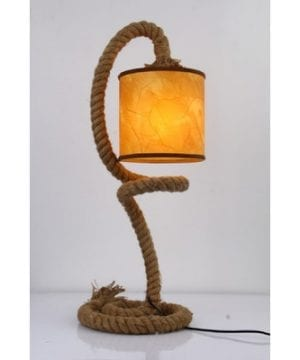 Lark Manor Elina Rope Table Lamp