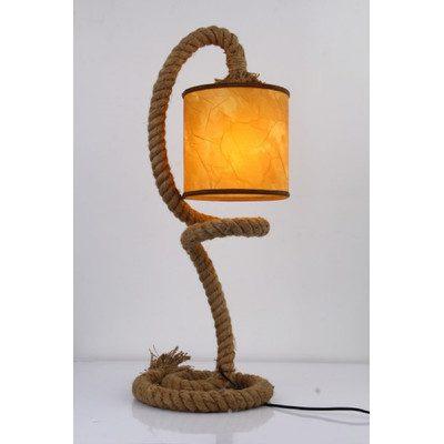 Lark Manor Elina Rope Table Lamp