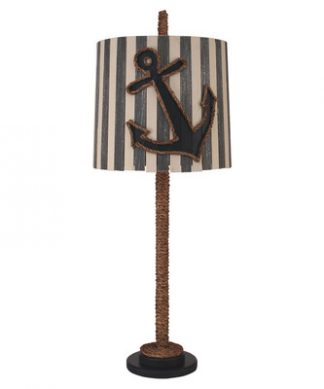 Coastal Straight Rope Anchor Lamp