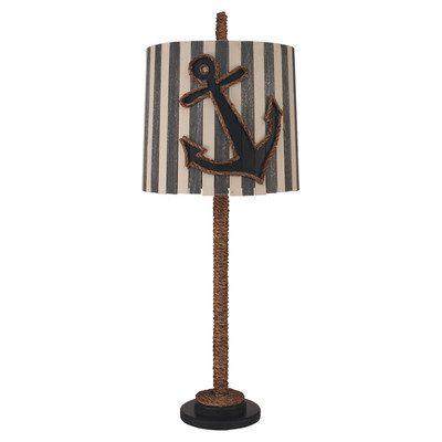 15-coastal-straight-rope-anchor-lamp Nautical Anchor Decor