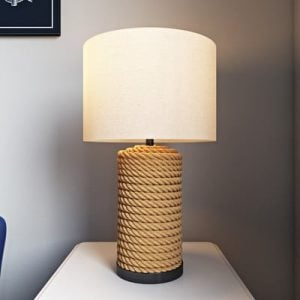 Farmingdale Rope Wrapped Table Lamp