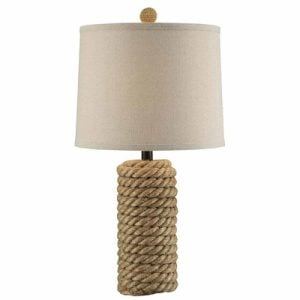 Crestview Rope Belt Table Lamp