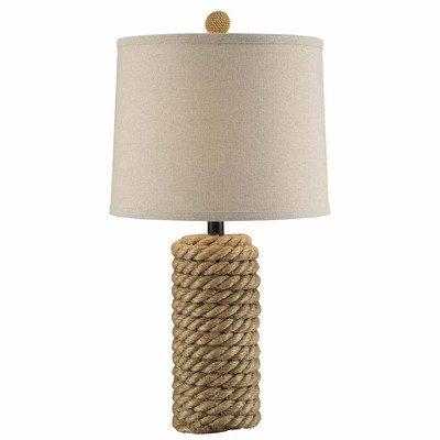 Crestview Rope Belt Table Lamp