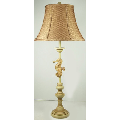 Judith Edwards Gold Seahorse Table Lamp