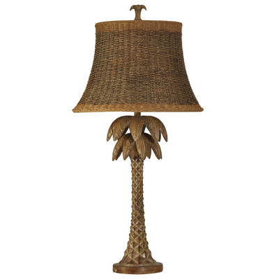 Bay Isle Home Palm Tree Table Lamp