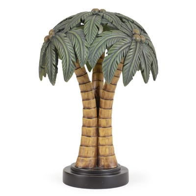 Palm Tree Shade Table Lamp