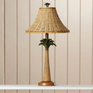 Bay Isle Harriet Palm Tree Table Lamp
