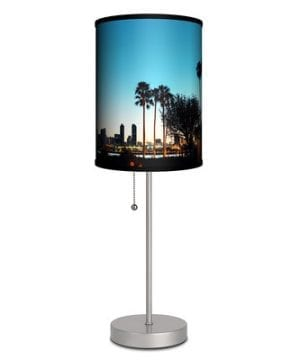 9-lamp-in-a-box-palm-tree-sunset-scene-lamp-300x360 200+ Coastal Themed Lamps
