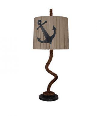 Manila Rope Anchor Shade Table Lamp