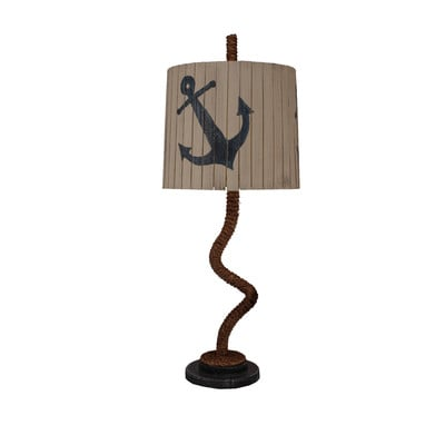 Manila Rope Anchor Shade Table Lamp