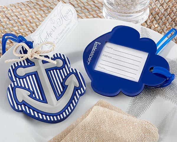 Anchor-Luggage-Tag-Favor The Best Beach Wedding Favors You Can Buy