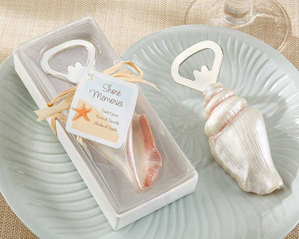 Sea-Shell-Bottle-Opener The Best Beach Wedding Favors You Can Buy
