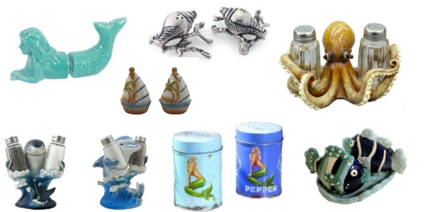 The Best Beach Salt and Pepper Shakers