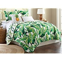 elise-and-james-palm-tree-quilt-set The Best Palm Tree Bedding and Comforter Sets