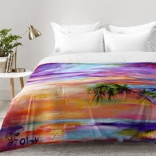 florida-palms-beach-comforter-set The Best Palm Tree Bedding and Comforter Sets
