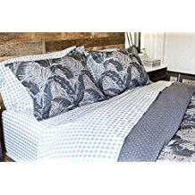 palm-tree-gray-comforter-set The Best Palm Tree Bedding and Comforter Sets