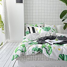 palm-tree-leaves-duvet-cover The Best Palm Tree Bedding and Comforter Sets