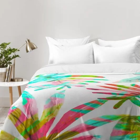 paradise-palm-comforter-set The Best Palm Tree Bedding and Comforter Sets