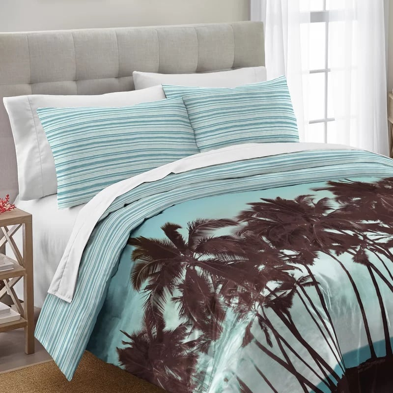 rockview-palm-tree-comforter-set The Best Palm Tree Bedding and Comforter Sets