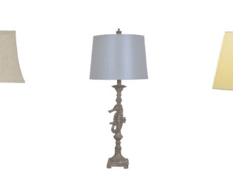 seahorse lamps