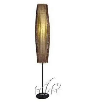 Floor-Lamp-with-Bamboo-Design-in-Natural-Finish-300x360 200+ Coastal Themed Lamps