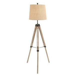 The-Elegant-Wood-Metal-Tripod-Floor-Lamp-300x300 Best Coastal Themed Lamps