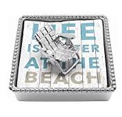 beach-chair 50+ Beach Napkin Holders and Coastal Napkin Holders For 2020