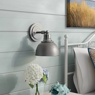 bridgepoint-1-light-nautical-wall-sconce Beach Wall Sconces & Nautical Wall Sconces