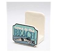 come-to-the-beach 50+ Beach Napkin Holders and Coastal Napkin Holders For 2020