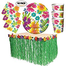 luau-table-skirt-party-set-1 Best Luau Party Decorations