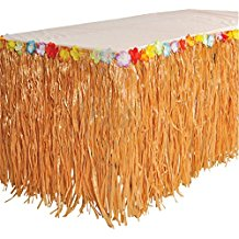 natural-luau-grass-skirt-2 Best Luau Party Decorations