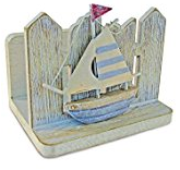 nautical-sailboat-napkin-holder Beach Kitchen Decor and Coastal Kitchen Decor