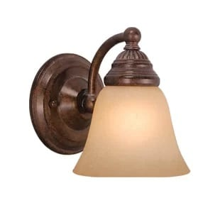 omaha-1-light-armed-sconce Beach Wall Sconces & Nautical Wall Sconces