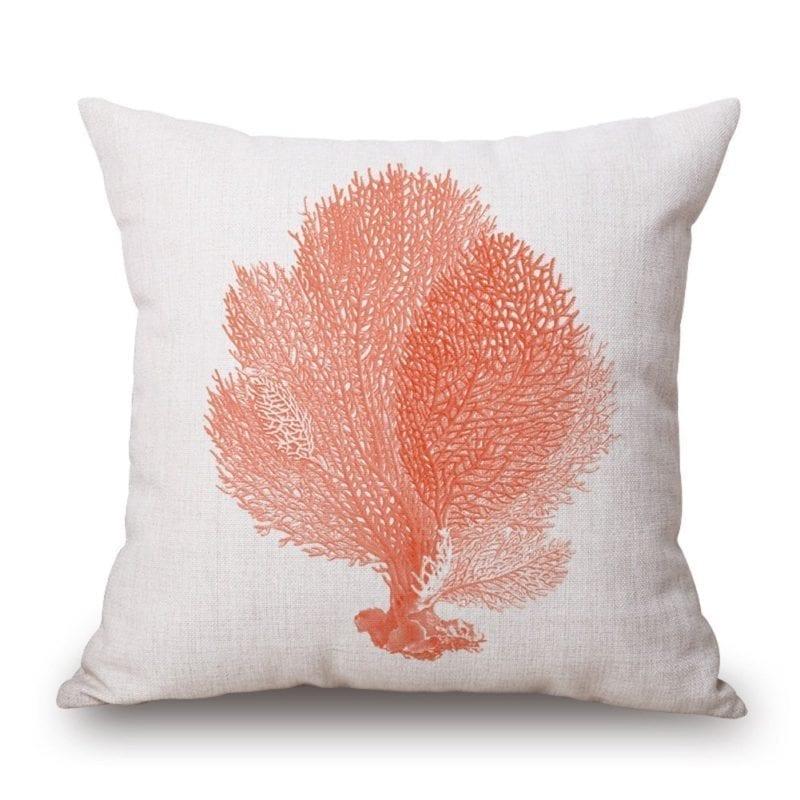 orange-coral-throw-pillows-800x800 Coastal Throw Pillows & Beach Throw Pillows