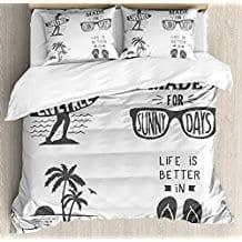 quote-beach-theme-duvet-cover-set-for-kids Kids Beach Bedding & Coastal Kids Bedding