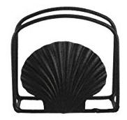 scallop-shell 50+ Beach Napkin Holders and Coastal Napkin Holders For 2020