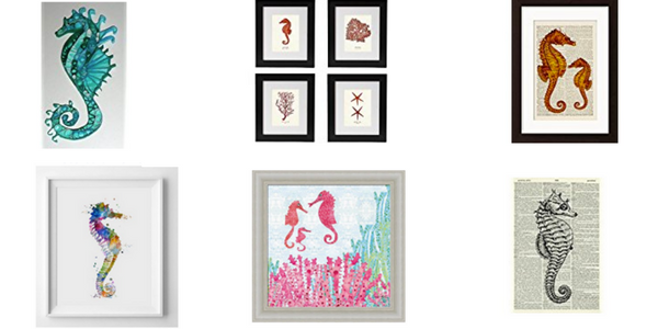 The Best Seahorse Artwork You Can Buy
