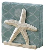 starfish-beach-napkin-holder Beach Kitchen Decor and Coastal Kitchen Decor