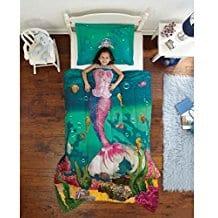 underwater-paradise-mermaid-bedding-set-for-girls Kids Beach Bedding & Coastal Kids Bedding