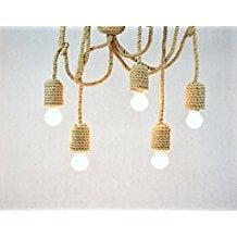 1-5-light-rope-chandelier Beach Themed Chandeliers