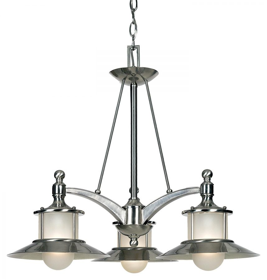 1-brushed-nickel-chandelier 100+ Beautiful Nautical Themed Chandeliers