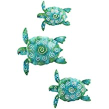 1-turtle-metal-wall-decor Beach Wall Decor