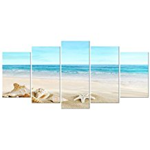 2-seashells-canvas-artwork The Best Beach Wall Decor You Can Buy