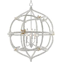 3-serafina-white-shell-coastal-chandelier Beach Themed Chandeliers