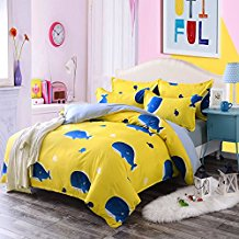4pcs-Animal-Designs-Hydro-Cotton-KidsTeens-Bedding-Sets-Duvet-Cover 100+ Nautical Duvet Covers and Nautical Coverlets