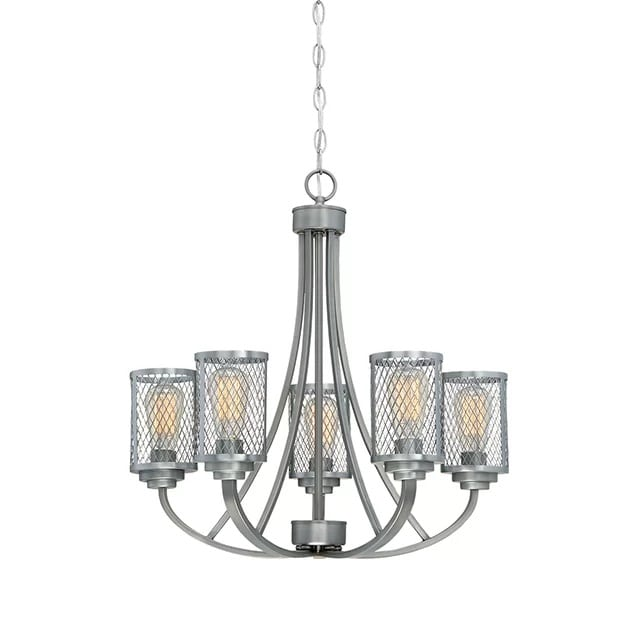 5-light-candle-style-chandelier Nautical Chandeliers