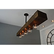 5-recessed-wood-beam-5-light-nautical-chandelier Beach Themed Chandeliers