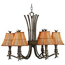6-kwai-light-brown-chandelier Beach Themed Chandeliers