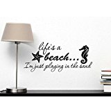 7-lifes-a-beach-wall-decal The Best Beach Wall Decor You Can Buy